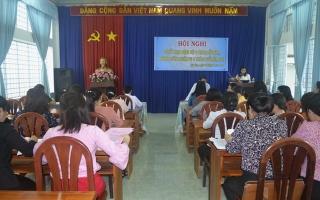 Hội LHPN tỉnh sơ kết hoạt động 6 tháng