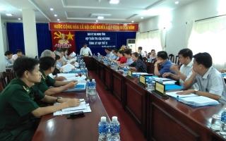 Thẩm tra các nội dung trình kỳ họp thứ 12 HĐND tỉnh