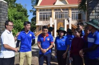 Tỉnh đoàn Tây Ninh: Thăm, động viên sinh viên tình nguyện Mùa hè xanh