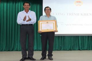 Hội Nông dân Gò Dầu được nhận bằng khen của BCH Trung ương Hội