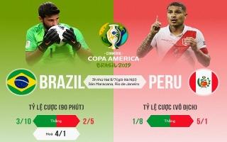 Brazil - Peru: Tương quan trước chung kết Copa America 2019