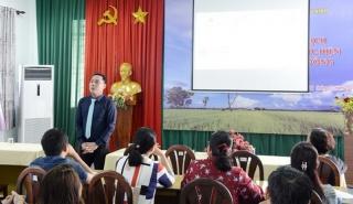 Tập huấn kỹ năng xúc tiến du lịch và mô hình du lịch cộng đồng