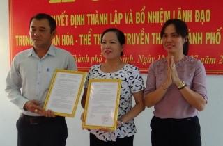 Thành lập Trung tâm VHTT&TT thành phố Tây Ninh