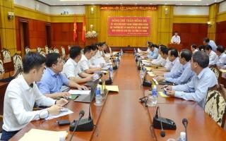 Bộ trưởng Bộ TN&MT làm việc tại Tây Ninh
