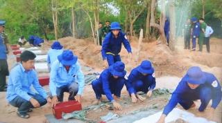 Đưa 189 hài cốt liệt sĩ quân tình nguyện Việt Nam về nước