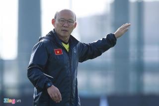 HLV Park Hang-seo không dự lễ bốc thăm vòng loại World Cup châu Á