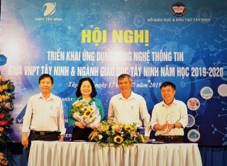 VNPT Tây Ninh- Sở GD&ĐT ký kết thỏa thuận hợp tác