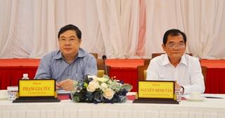 Giao ban công tác nội chính các tỉnh, thành phố khu vực phía Nam