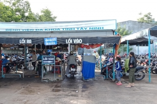 Người dân đề nghị điều chỉnh lại khung giờ giữ xe ban đêm tại BVĐK Tây Ninh