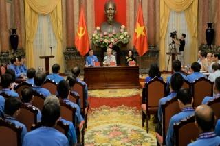 Tổng Bí thư, Chủ tịch nước gặp mặt các Chủ tịch Công đoàn tiêu biểu