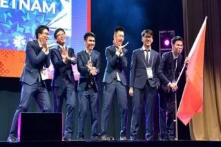 Học sinh Việt Nam giành 2 HCV, 4 HCB tại Olympic Toán quốc tế 2019