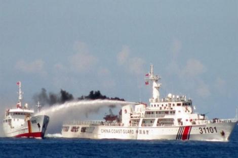 Tàu Hải Dương địa chất 8 của Trung Quốc phải rút khỏi vùng biển Thềm lục địa Việt Nam