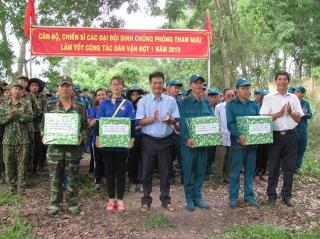 Lãnh đạo TP.Tây Ninh thăm lực lượng làm công tác dân vận
