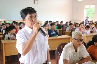 Đại biểu HĐND tỉnh tiếp xúc cử tri Gò Dầu
