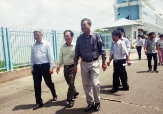Bộ Y tế kiểm tra công tác phòng chống thiên tai tại Tây Ninh