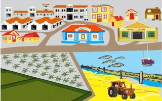 Chung sức thi đua xây dựng nông thôn mới