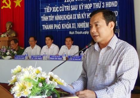 Điều động bổ nhiệm ông Nguyễn Hoàng Nam giữ chức Phó Giám đốc, phụ trách Sở Tư pháp