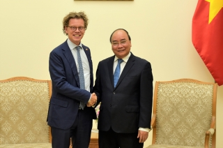 Thủ tướng tiếp Đại sứ Thụy Điển