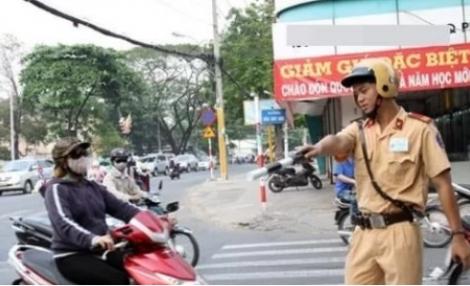 Những trường hợp CSGT sẽ xử phạt tại chỗ đối với xe máy