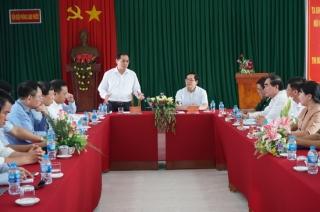 Thứ trưởng Ngoại giao Bùi Thanh Sơn thăm và làm việc tại Tây Ninh
