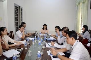 Kiểm tra công tác CCCH và kiểm soát TTHC tại Sở Nội vụ và Sở Xây dựng