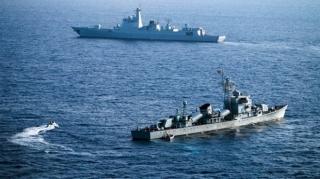Việt Nam trao công hàm phản đối việc Trung Quốc tập trận tại Hoàng Sa