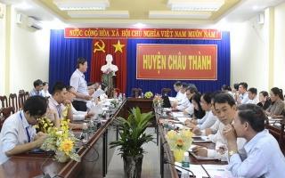 Kiểm tra công tác CCHC tại huyện Hòa Thành và Châu Thành