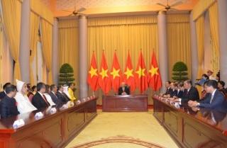 Tổng Bí thư, Chủ tịch nước Nguyễn Phú Trọng tiếp Đại sứ các nước trình Quốc thư