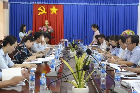 Kiểm tra công tác CCHC tại thành phố Tây Ninh