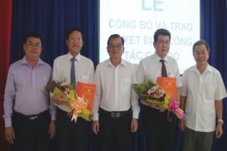 Trao quyết định bổ nhiệm Phó Bí thư Huyện ủy Trảng Bàng