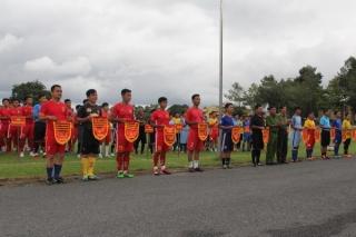 Tổ chức Giải bóng đá chào mừng Ngày truyền thống CAND Việt Nam