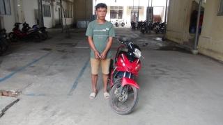 CA Hoà Thành: Bắt đối tượng trộm xe môtô