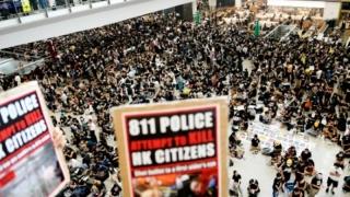 Trung Quốc lên án biểu tình Hong Kong là 'khủng bố'