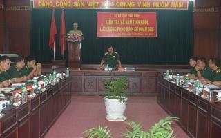 Bộ Tư lệnh Pháo binh kiểm tra lực lượng Pháo binh tại Sư đoàn 5