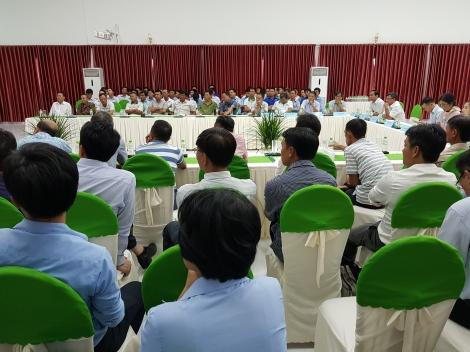 Hội thảo về kỹ thuật trồng mía năng suất cao
