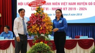 Gò Dầu tổ chức Đại hội đại biểu Hội LHTN lần thứ VI, nhiệm kỳ 2019-2024