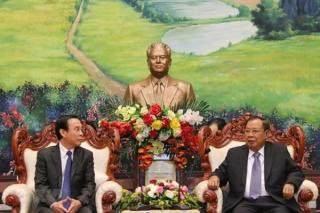 Gìn giữ, vun đắp, phát triển quan hệ đặc biệt Lào - Việt Nam lên tầm cao mới