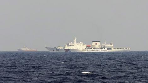 Trung Quốc tái diễn xâm phạm vùng biển Việt Nam