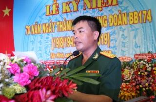 Kỷ niệm 70 năm thành lập Trung đoàn Bộ binh 174