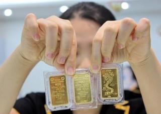 Vàng tăng giá trở lại, sát mốc 42 triệu đồng/lượng