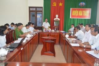 Hoà Thành: Lấy ý kiến thông qua Đề án thành lập thị xã Hòa Thành