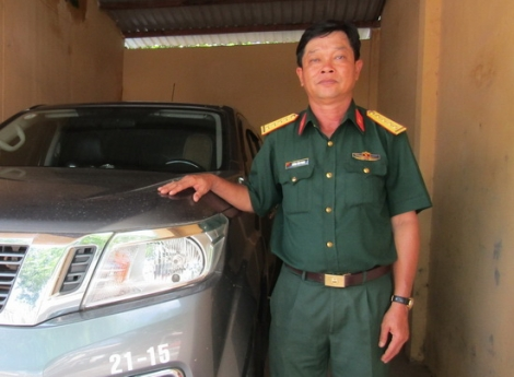 Chiến sĩ lái xe yêu nghề, hoàn thành tốt nhiệm vụ