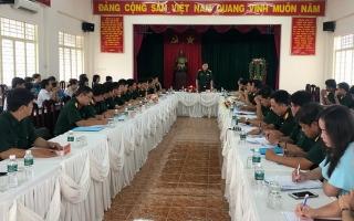 Quân khu 7: Kiểm tra công tác quốc phòng tại thành phố Tây Ninh