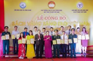 Công bố 'Sách vàng Sáng tạo Việt Nam' 2019: Vinh danh 74 công trình