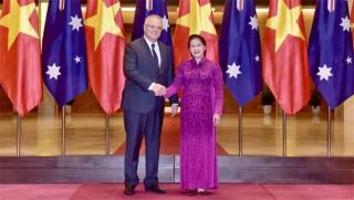 Chủ tịch Quốc hội, Phó Chủ tịch nước hội kiến Thủ tướng Australia