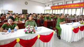 Đảng uỷ Công an Trung ương sơ kết 3 năm thực hiện Chỉ thị 05
