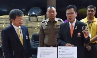 Thái Lan bắt nhóm bán thiết bị điện giả do người Việt cầm đầu