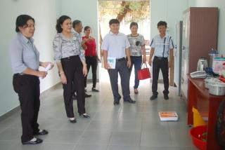 Ra mắt mô hình địa chỉ tin cậy- Nhà tạm lánh cộng đồng xã Thanh Phước