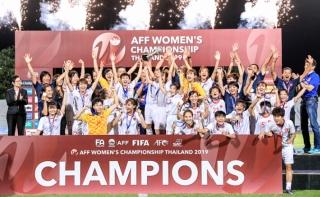 Việt Nam vô địch bóng đá nữ Đông Nam Á 2019