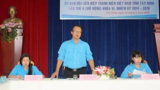 Hội nghị Uỷ ban Hội LHTN Tây Ninh lần 9, nhiệm kỳ 2019-2024